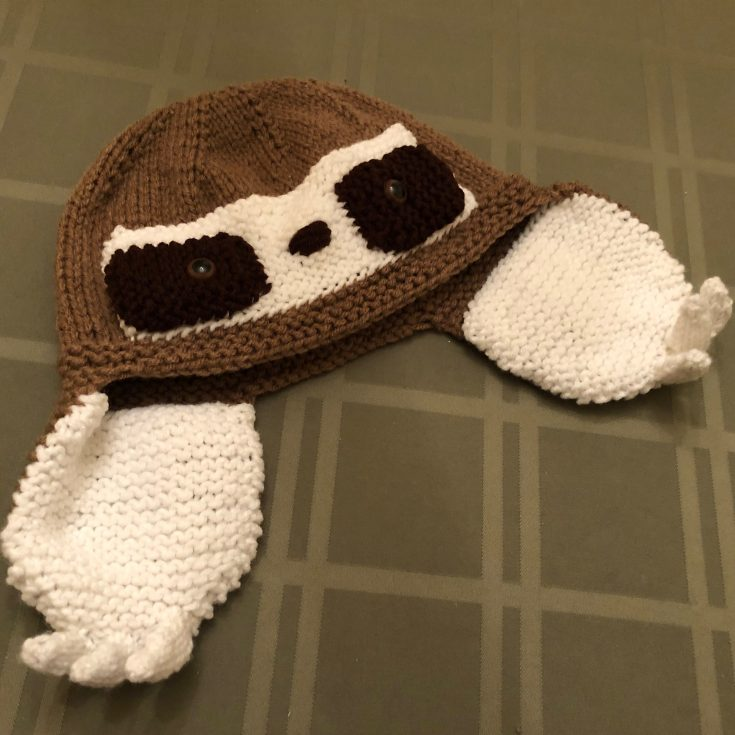 Knit Sloth Hat