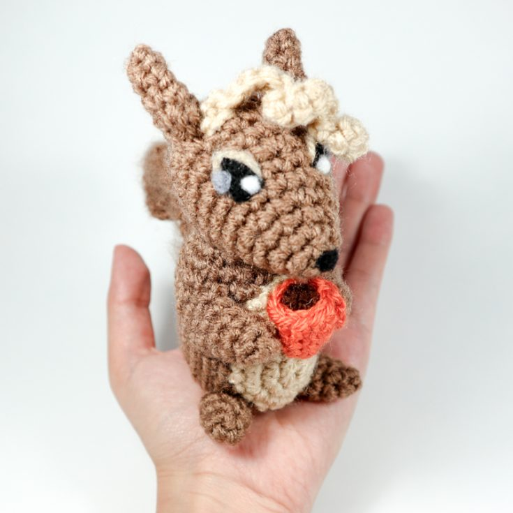 Basic Fall Squirrel Amigurumi