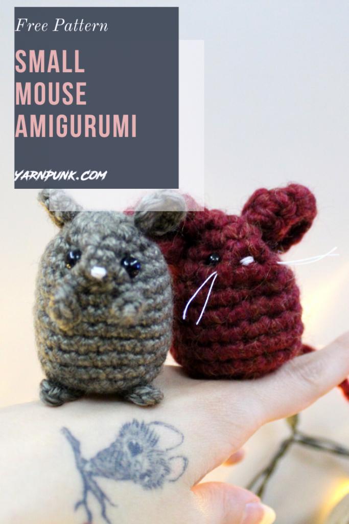 LucyRavenscar - Crochet Creatures: Little Kissing Mice - free ... | 1024x683