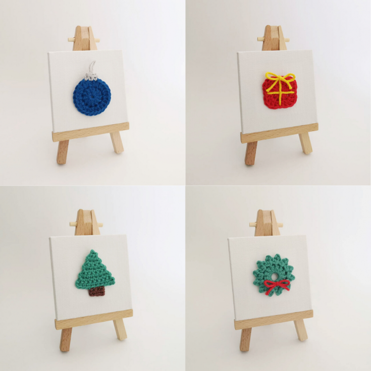 Canvas Ornament's