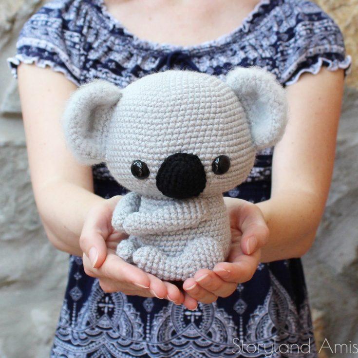 PATTERN Cuddle-Sized Kozy the Koala Amigurumi