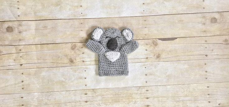 THNLife - Koala Hand Puppet Crochet Pattern | Erin Greene