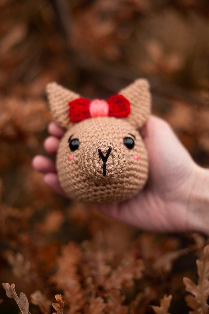 Crochet Amigurumi Kangaroo Joey