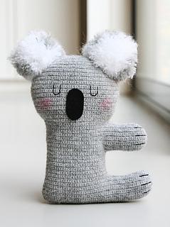 Kiki the Koala pattern by Claudia van K.