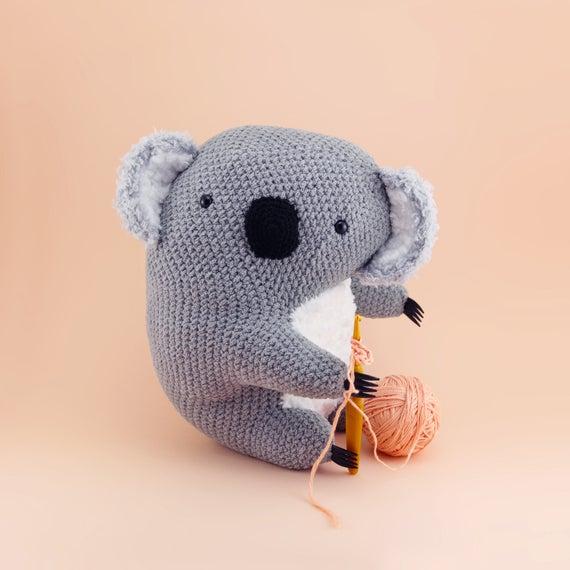 George The Koala - Cuddly Amigurumi Pattern PDF