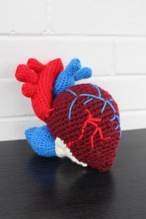 Human Heart pattern by Valérie Prieur-Côté